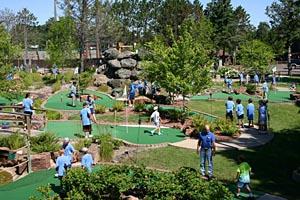Mini Golf - Scheer's Lumberjack Village - Hayward WI